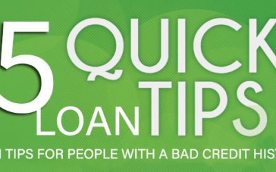 5 Tips About Bad Credit Loans